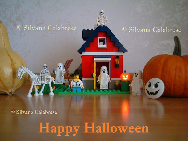 Halloween Lego e ornamental pumpkins Loving San Francisco