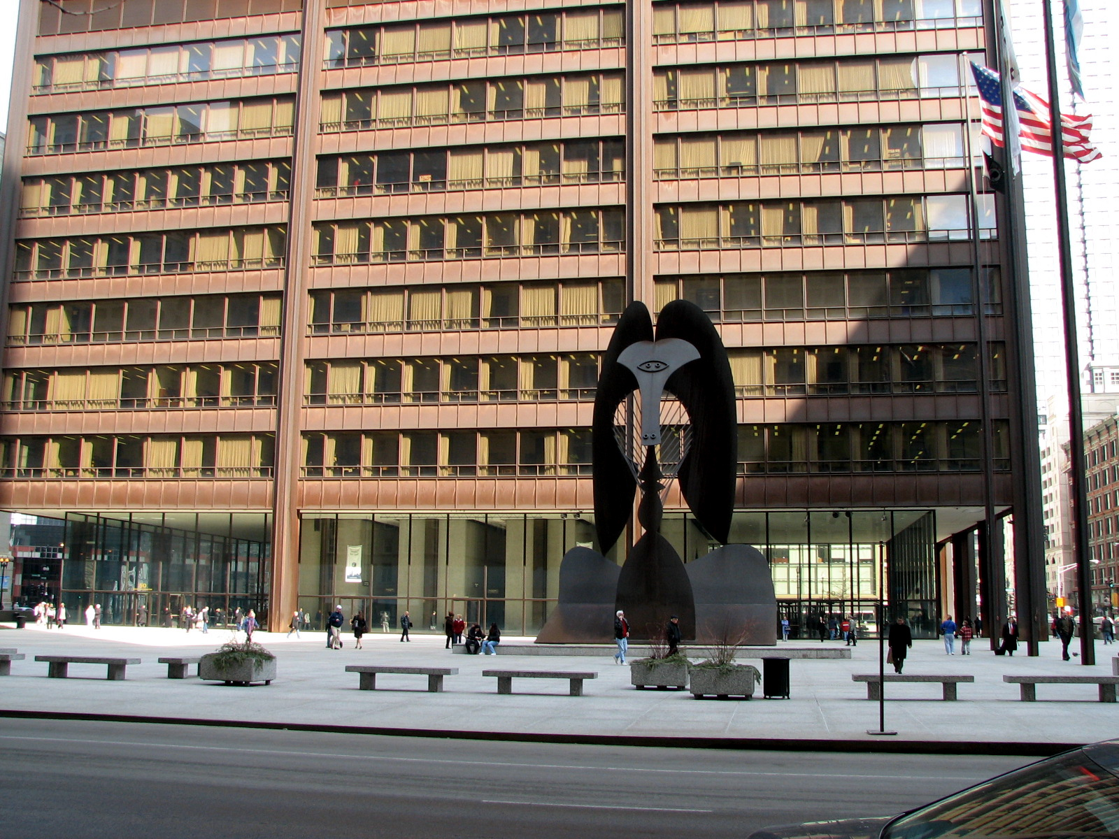 Richard J Daley Center Part Three Connecting The