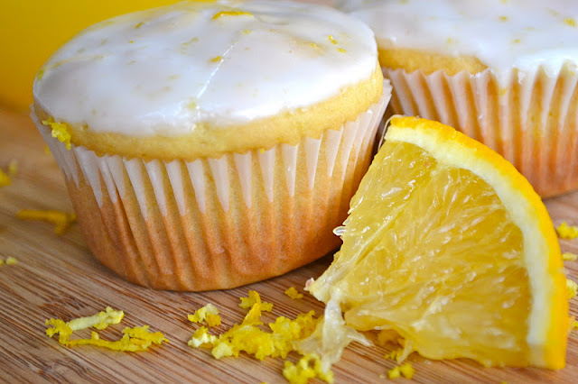 Orange Yogurt Muffins | www.motherthyme.com