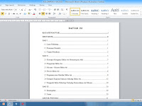"Cara Mengatasi ""Error! Bookmark not defined"" pada Table of Content"