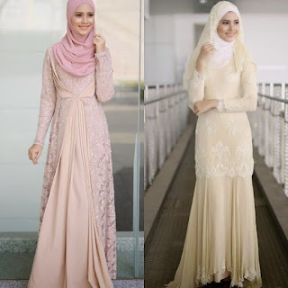 Gaun Pengantin Kebaya Muslim