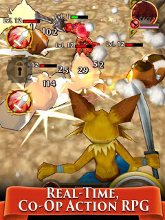 Colopl Rune Story v1.0.61 Mod Apk High Damage Skill