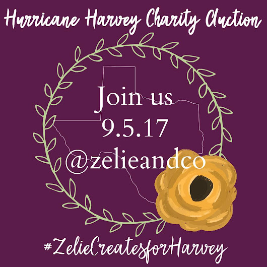 Zelie & Co Charity Auction for Hurricane Survivors {September 5}