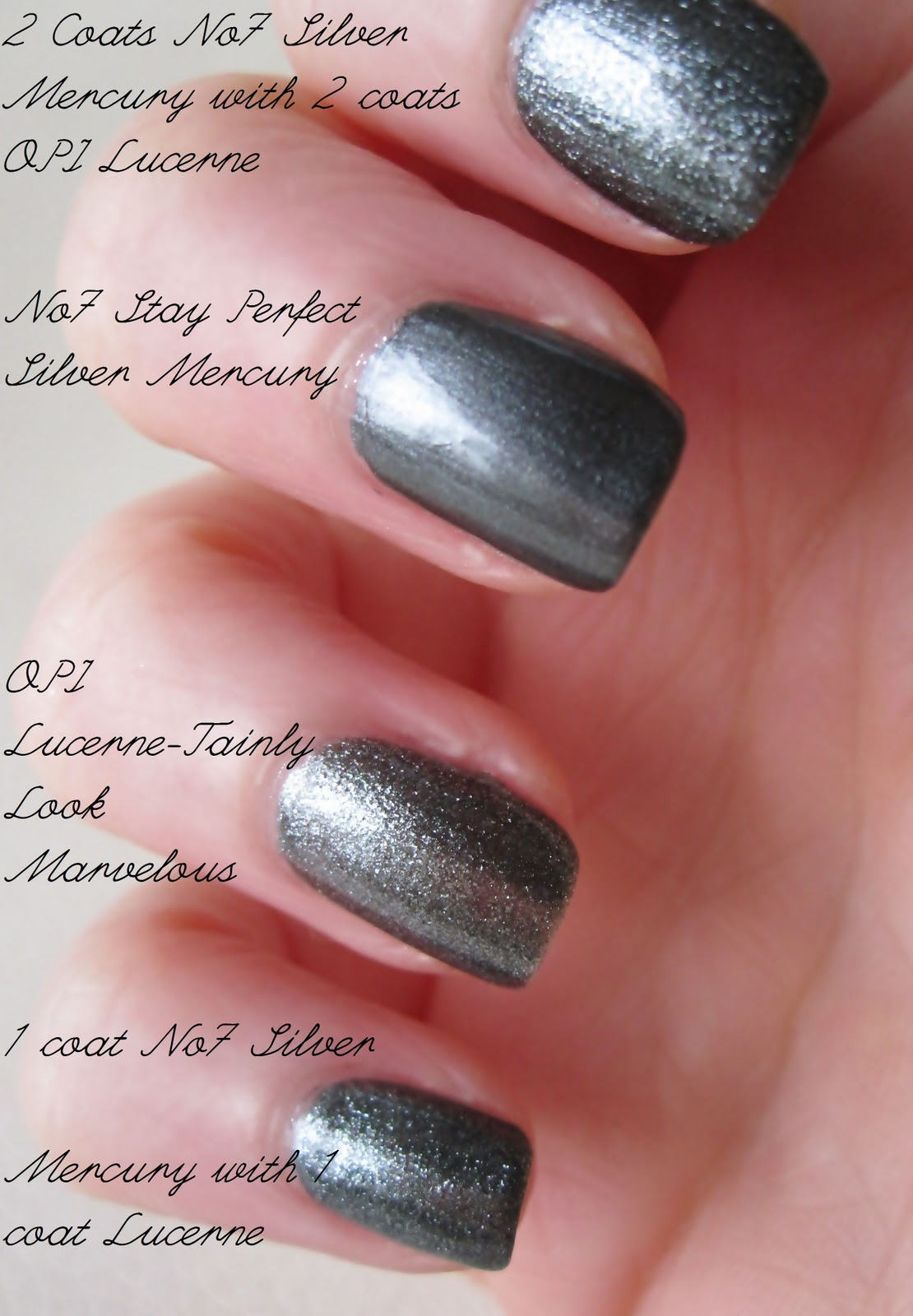 Notd No7 Opi Gunmetal Shades Makeup Savvy And
