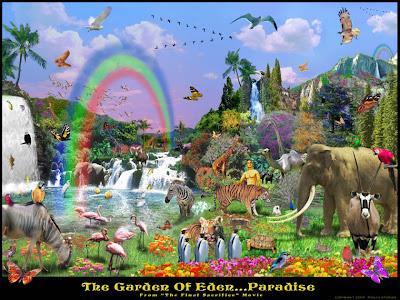 Resultado de imagen de jardin del eden