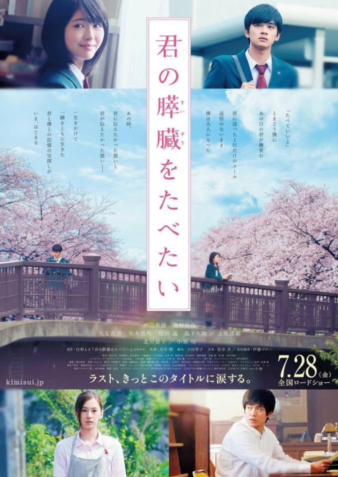 Let me eat your pancreas película