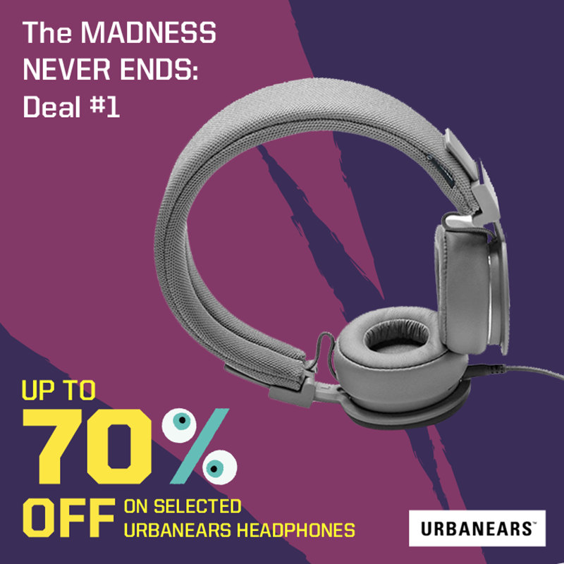 Urbanears Headphones Will Be On Sale At Digital Walker, Price Starts At PHP 450 Only!