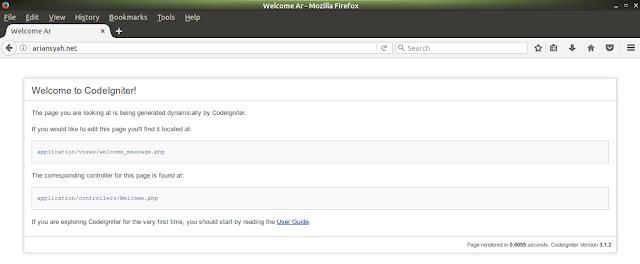 menambahkan virtual host di linux