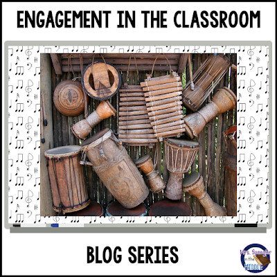 Join Mrs. Spangler in the Middle for Engagement Ideas for the Classroom - this week:  Music!