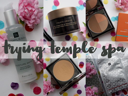 Tying Temple Spa for the first time