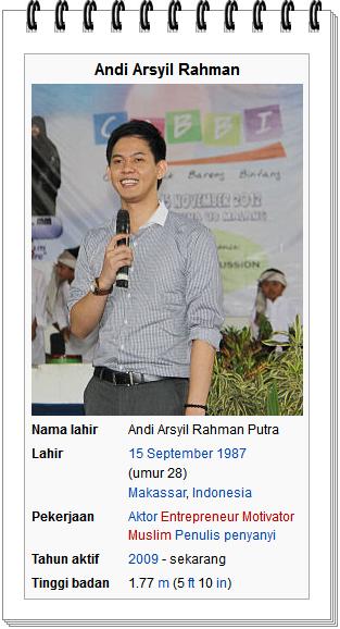foto Andi Arsyil Rahman peran sebagai robby