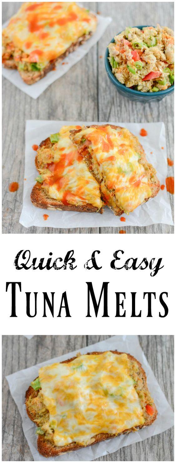 Easy Tuna Melts