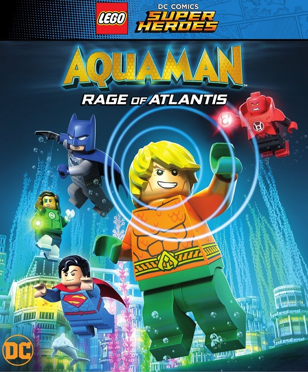 LEGO DC Comics Super Heroes: Aquaman – Rage of Atlantis [2018] [DVDR] [NTSC] [CUSTOM HD] [Latino]