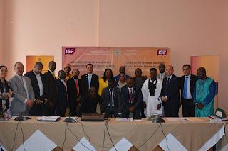 الجمع العام للجامعة الدولية للرياضة المدرسية بإفريقيا - بلاغ صحفي
