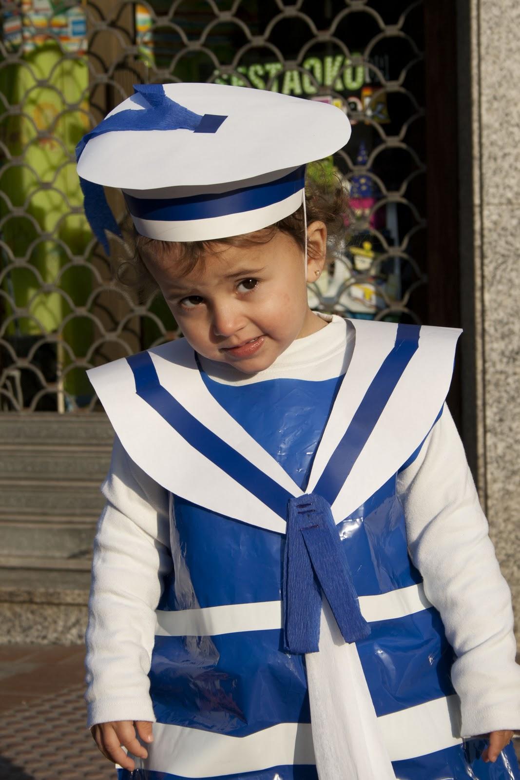 C mo hacer un disfraz de marinero - Disfraz de marinero casero ...