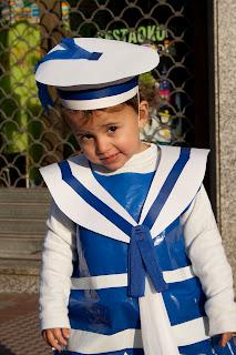 disfrazada de marinero