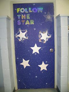 The Notre Dame School Talent Show 2013 Christmas Door