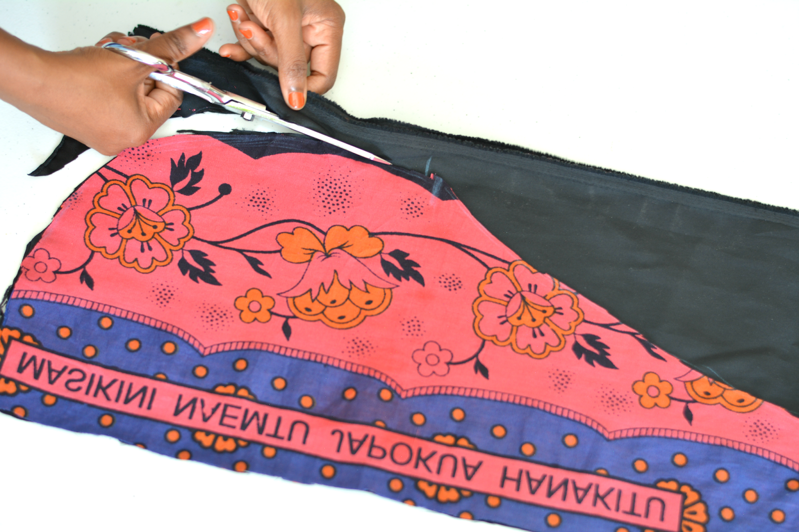 african print wrap tutorial