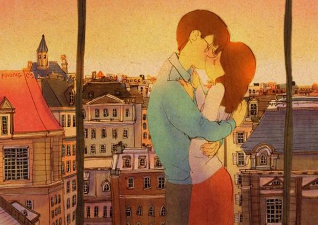Puuung e suas ilustrações de amor diário