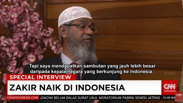 MasyaAllah, Setelah Safari Dakwah Kesan Dr. Zakir Naik: Indonesia, Negara dengan Penerimaan Terbaik yang Saya Kunjungi