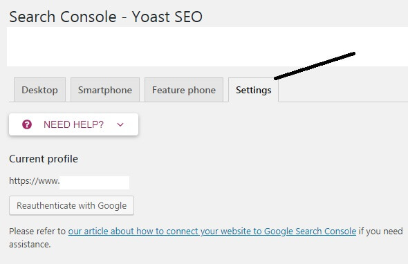 Gambar Search Console Yoast