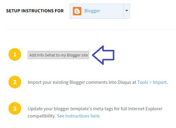cara memasang kolom komentar disqus di blog