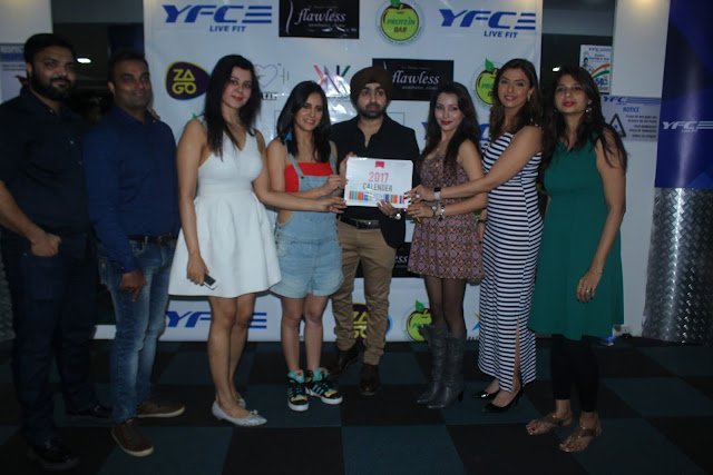 Rizwan Sayed,Amit Gokhe,Aanushka Ramesh,Shweta Khanduri, Angad Arora, Ibra Khan and Jyoti Saxena at Launch Of The 1st Fitness Calender Of The Year I Am Fit