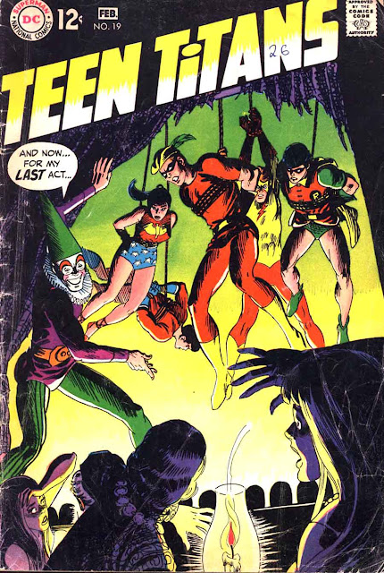Teen Titans v1 #19 dc comic book cover art by Nick Cardy