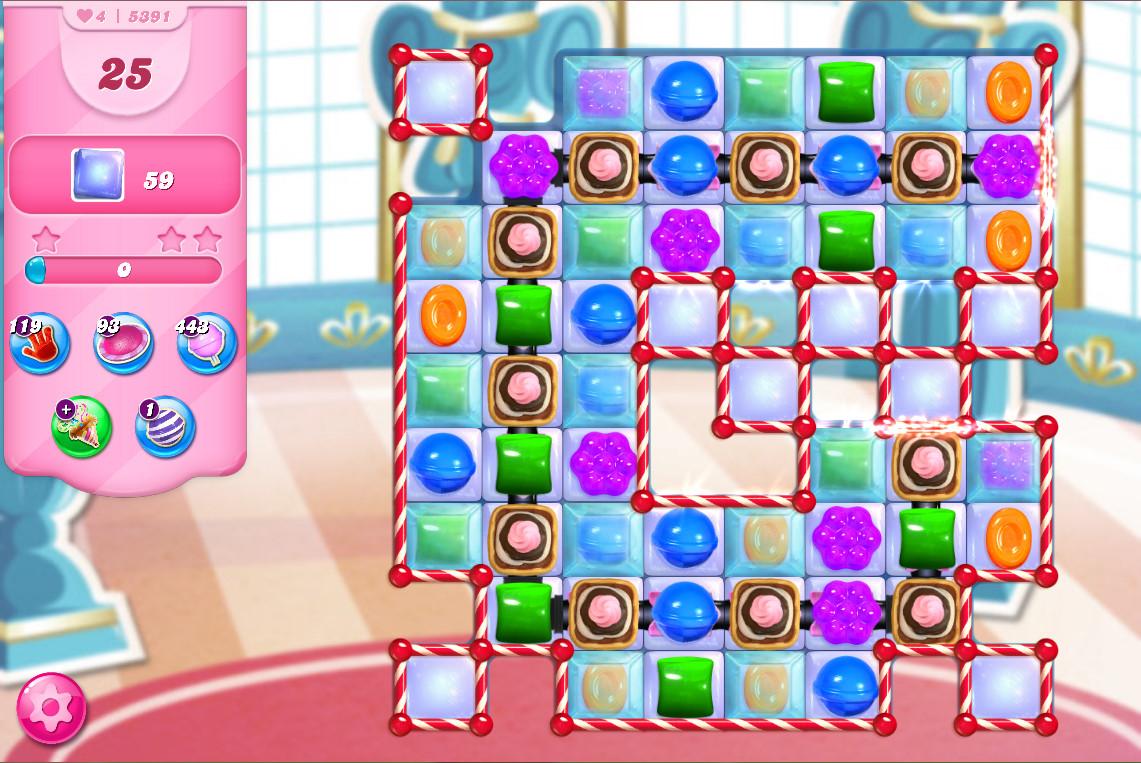 Candy Crush Saga level 5391