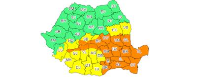 időjárás előrejelzés, ANM, Románia, Székelyföld, szélvihar, csapadék, havazás,