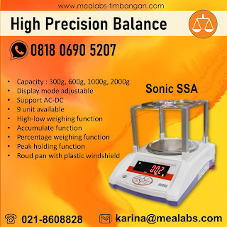 High Precision Balance Sonic SSA