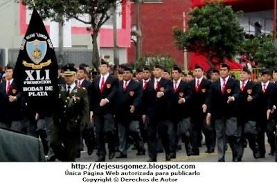 Foto de la Delegación del Colegio Militar Leoncio Prado (Promoción XLI) La Perla Callao - Perú tomada por Jesus Gómez