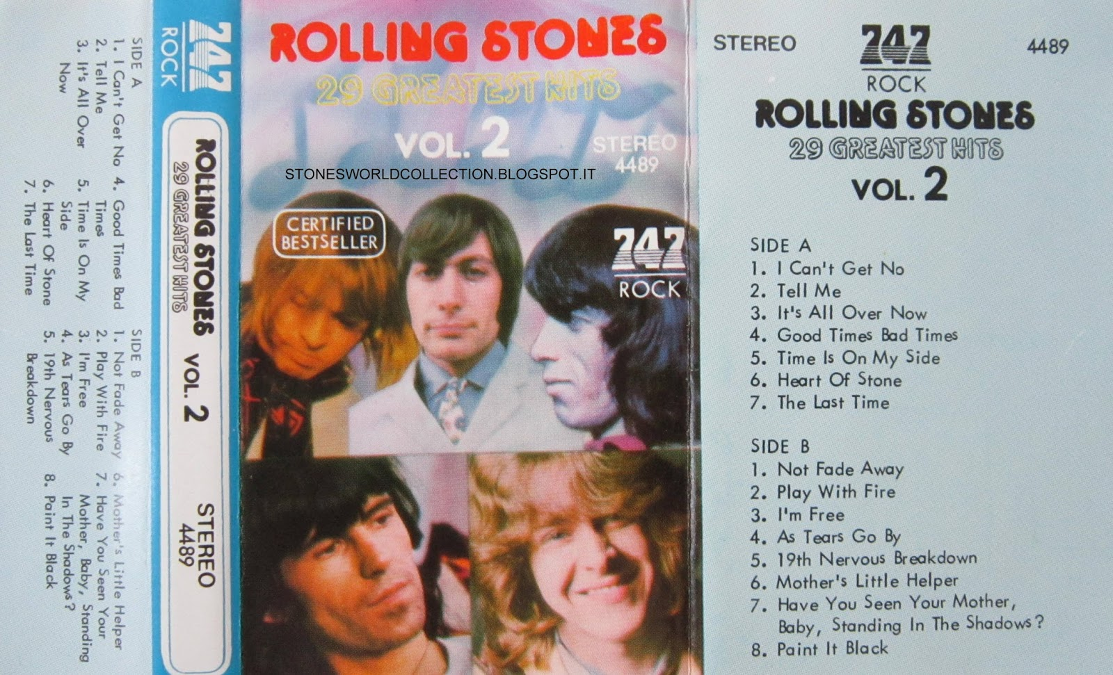Stonesworldcollection Rolling Stones 29 Greatest Hits