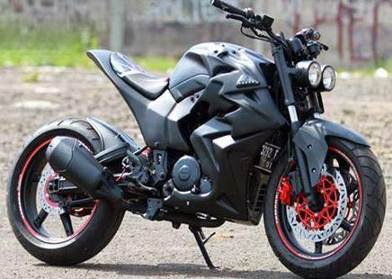 Foto Gambar Modifikasi Motor Yamaha Byson Terbaru 2018