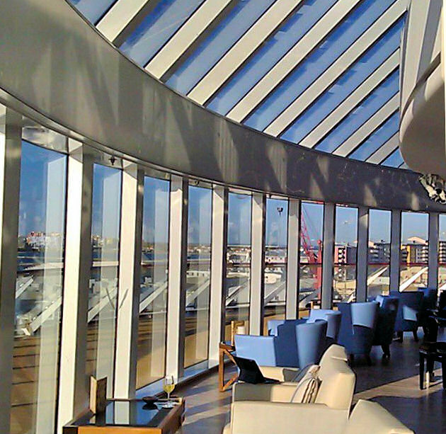 Undoubtedly my favorite place on the Viking Star was the Explorer's Lounge.