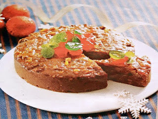 Gambar Resep Fruit Cake Almond
