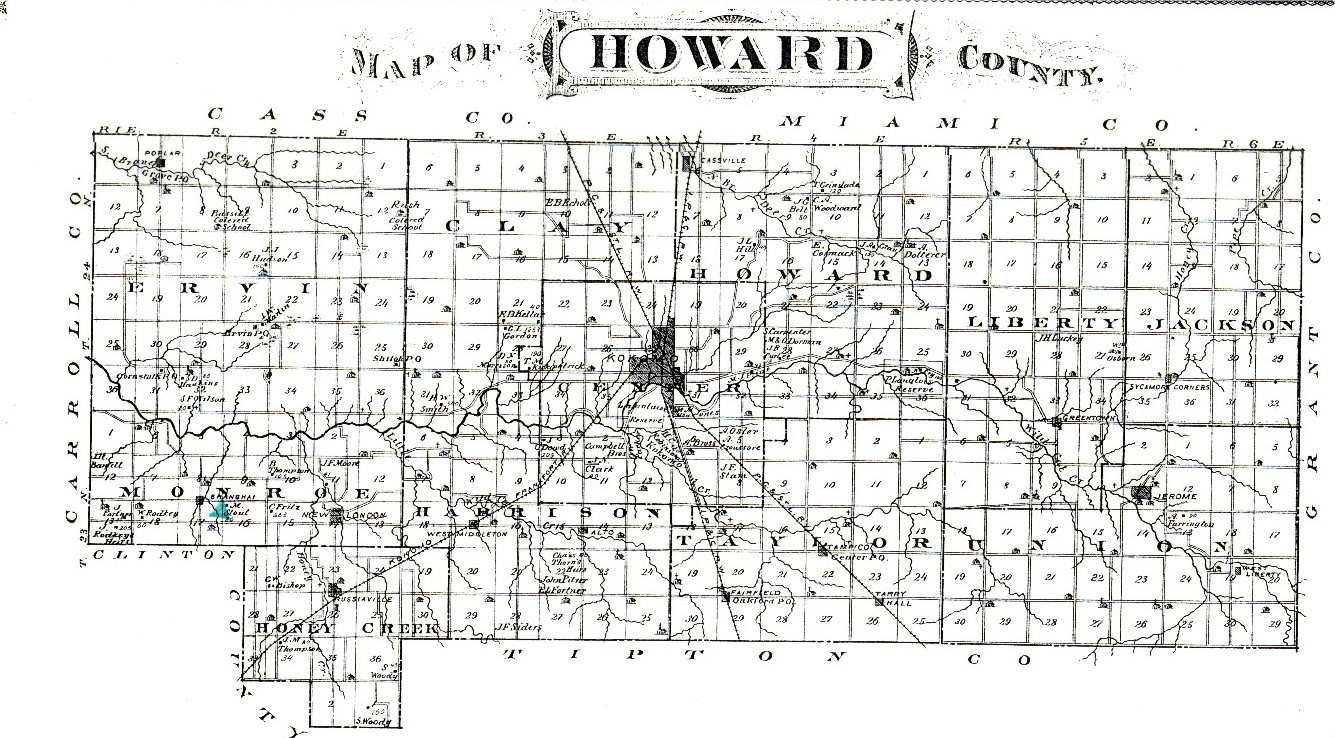 Howard County Indiana Map.Mound Builders A Travel Guide To The Ancient Ruins In The Ohio