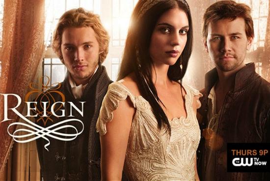 poster da série reign