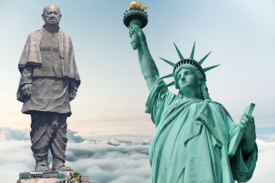 Statue of Unity vs. Statue of Liberty