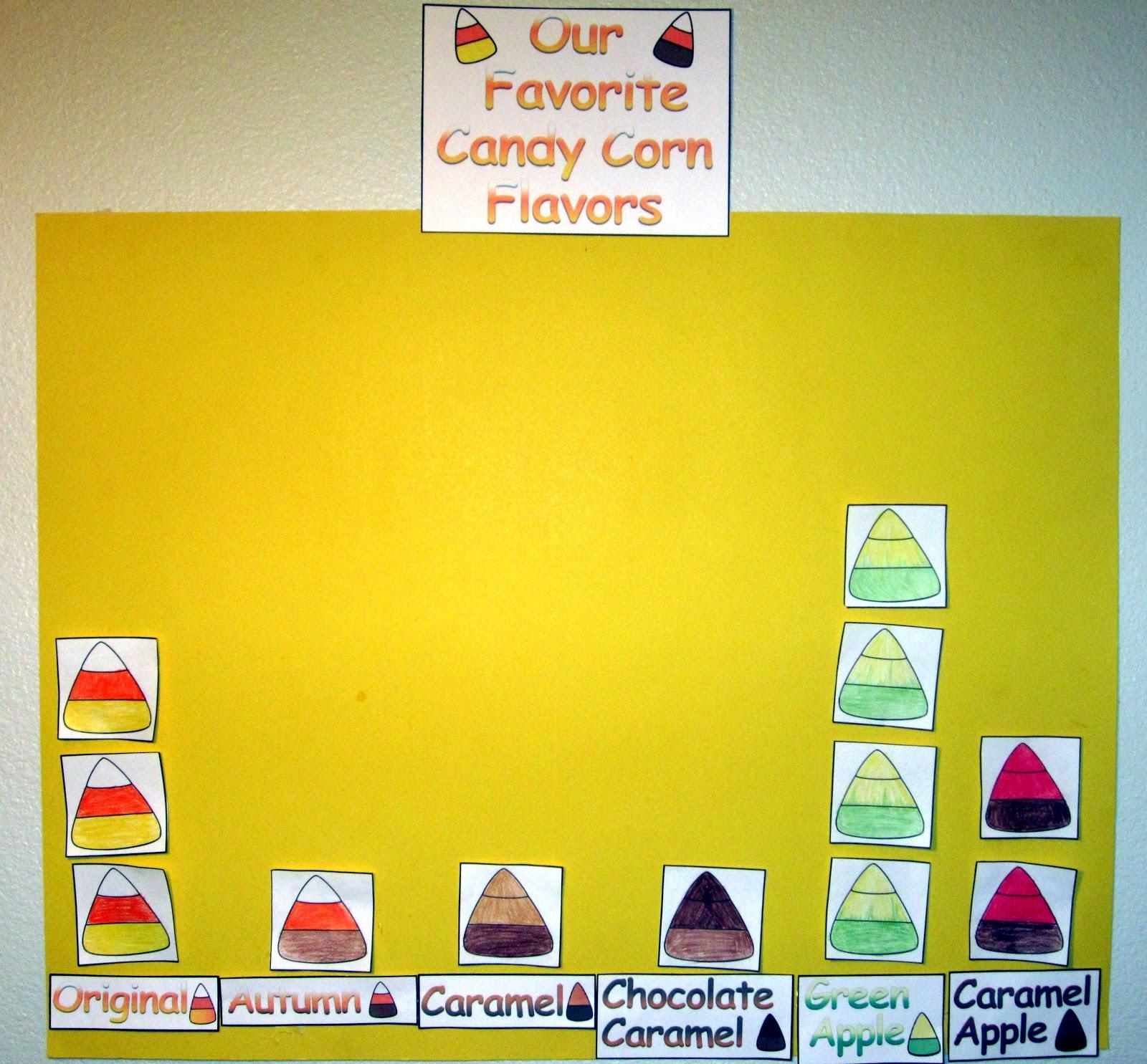 Herding Kats In Kindergarten Candy Corn Graph Freebie