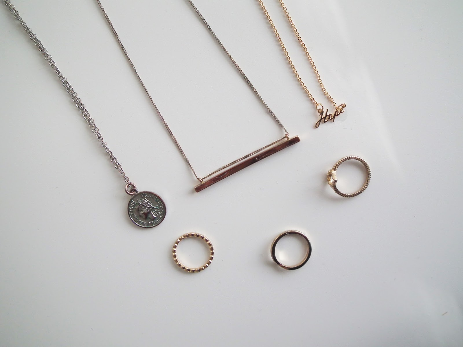 Accessories Dainty Necklaces Jewellery
