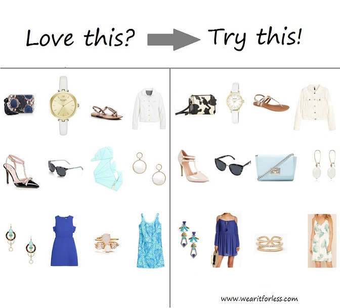 This time of year is wedding extravaganza and I wanted to find some more affordable wedding pieces for those of us that don't have thousands to spend on an outfit. I have rounded up some items similar to the Kate Spade inspiration pieces and I have included even more dress options below - everything for under $50!