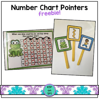 https://www.teacherspayteachers.com/Product/Number-Chart-Pointers-for-skip-counting-practice-3215845