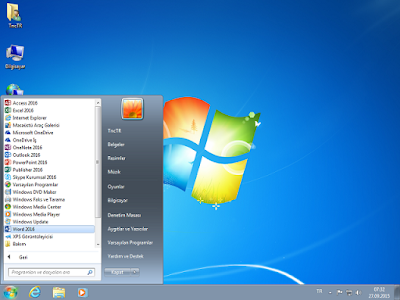 Windows 7 Ultimate SP1 32 ve 64 Bit Türkçe