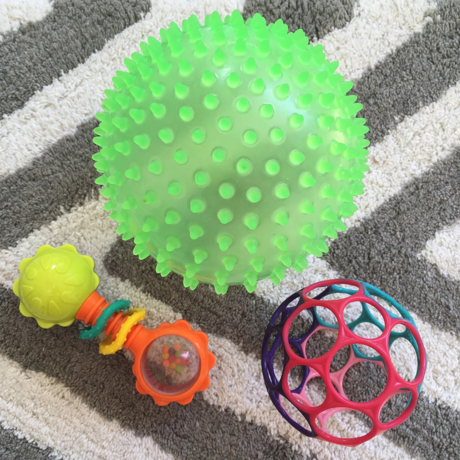 baby toys 6 months ball rattle