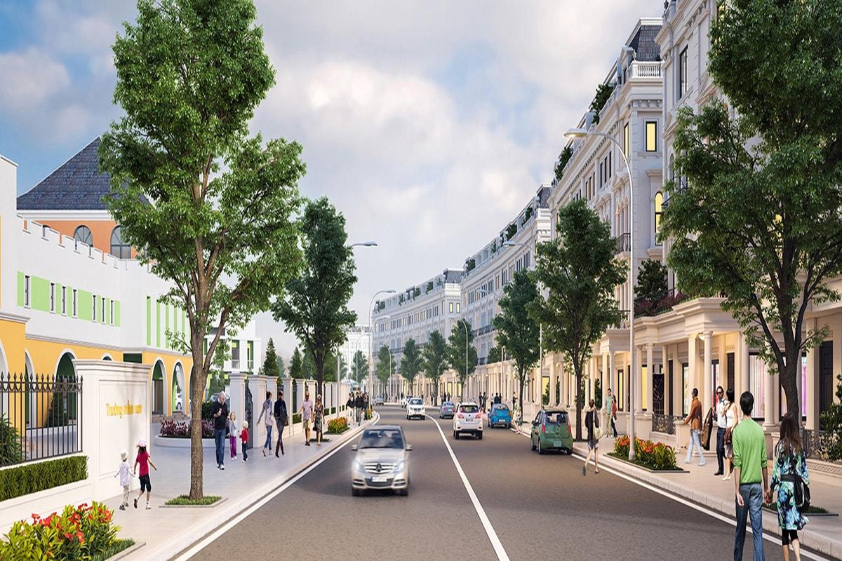 Liền kề dự án Louis City Hoàng Mai