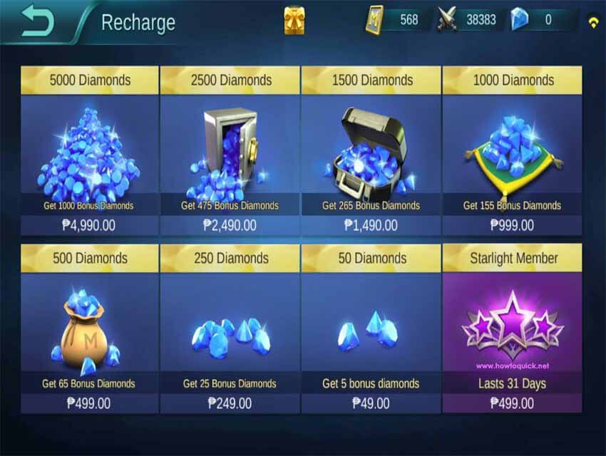 How to buy diamonds in mobile legends using globe and smart load diamonds in mobile legends stopboris Images