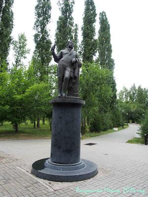 Таганрог фото памятник Пушкину