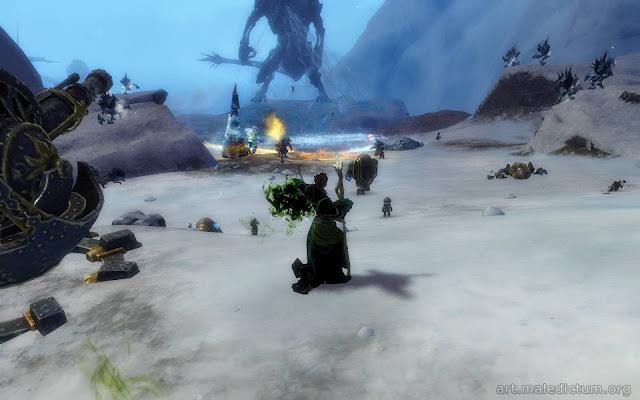 Guild Wars 2 - эпическое сражение с драконом