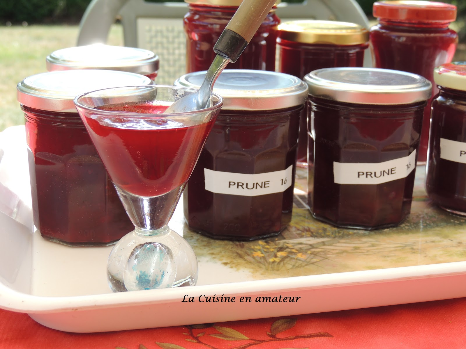 confiture prune cookeo